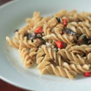Resep Fusilli with Champignon Mushroom and Black Pepper