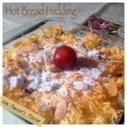 Hot Bread Pudding