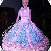 Resep Barbie Cake