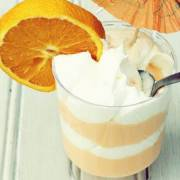 Resep Yogurt Orange in cup